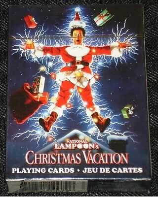National Lampoons Christmas Vacation Playing Card Deck: 52-349