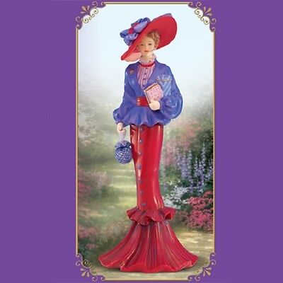 Shopping Excursion Lady Figurine  Thomas Kinkade Portraits of Style and Grace