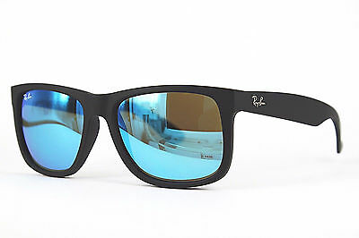 Ray Ban Sonnenbrille / Sunglasses JUSTIN RB4165 622/55 55 3N inkl.Etui