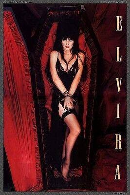 Elvira Without Makeup 8X10 Glossy Photo
