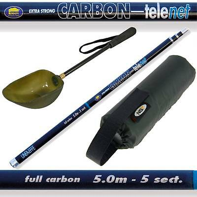 5m Baiting Spoon and Handle Boilies Bait Carp Fishing Tackle With Net Float