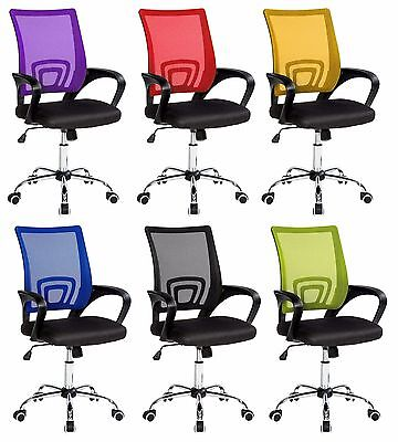 Swivel Mesh Office Executive Gaming Reclining Computer Desk Chair