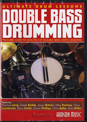 Double Bass Drumming Ultimate Drum Lessons Learn How to Play Tuition DVD SEALED