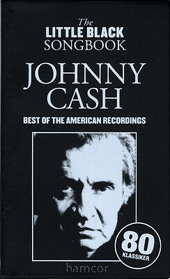 Johnny Cash Best of the American Recordings The Little Black Songbook Guitar