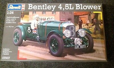 Revell 07007 - 1/24 Bentley 4,5L Blower - Neu