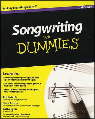 Songwriting for Dummies 2nd Edition Learn How to Write Songs