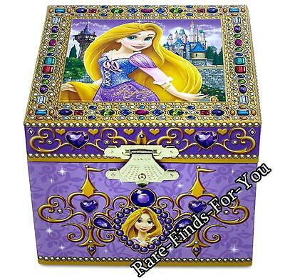 "Disney Theme Parks Tangled Movie Princess Rapunzel ""Musical"" Jewelry Box (NEW)"