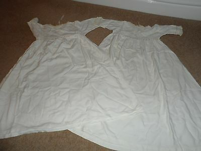 Vintage Christening Gowns 2 Cream Of The Same No Labels So No Size Or Make