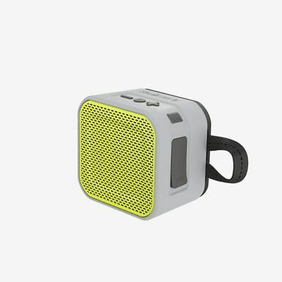 Skullcandy Barricade Mini Bluetooth Portable Speaker (grey/charcoal/hot lime)