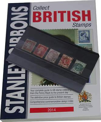 5 Great Britain Victoria stamps plus new 2014 Stanley Gibbons catalogue