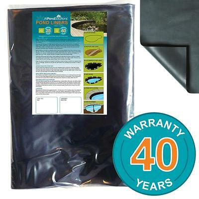 Pond Liners - PVC 1mm Pond Liner - Choose from 6 Sizes - 40 Year Warranty