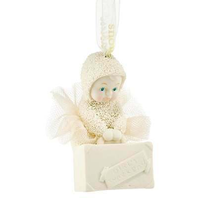 Snowbabies Department 56 Spa Day Hanging Ornament New Boxed 4051943