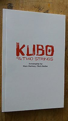 KUBO AND THE TWO STRINGS MOVIE FYC For Your Consideration screenplay script