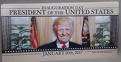 Wholesale Lot Of 20 Trump Inauguration Day President Of The Usa Sticker 01.20.17