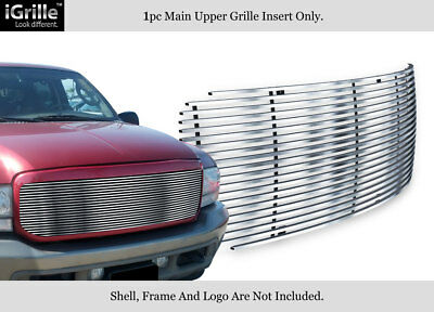Fits 99-04 Ford F250/F350 Super Duty/Excursion Stainless Steel Billet Grille