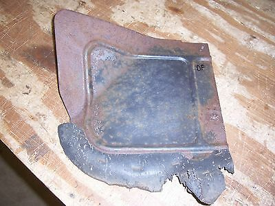 1958 Cadillac Deville front inner wheel house fender cover stone shield guard D