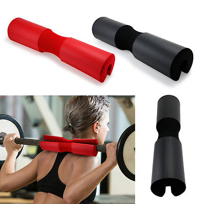 NEW Barbell Pad Pull Up Squat Bar Shoulder Support Weight Fitness Weightlifting