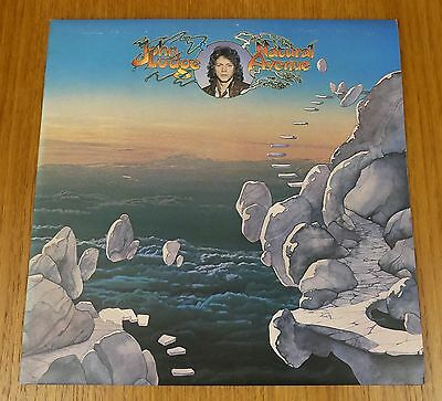 John Lodge - Natural Avenue - IMMACULATE MINT 1977 UK First Pressing LP + Insert