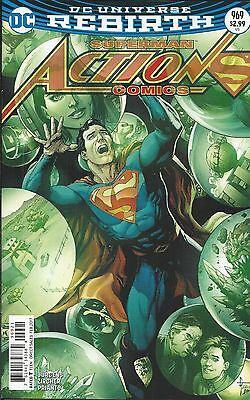 DC Universe Rebirth Superman Action Comics issue 969 Limited variant