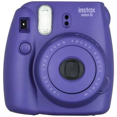 Fujifilm Instax Mini 8 Instant Film Camera - Grape