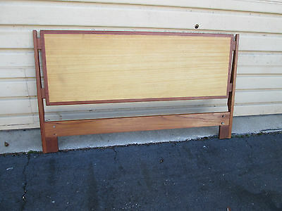 54732  Mid Century Modern Full Size Headboard Bed