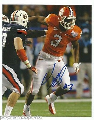 VIC BEASLEY Signed/Autographed CLEMSON TIGERS 8x10 Photo w/COA