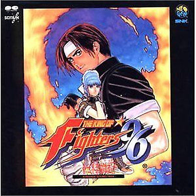 THE KING OF FIGHTERS GAME SOUNDTRACK CD Japanese THE KING OF FIGHTERS'96 ARRAXI