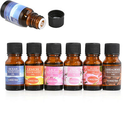 10ml Various 100% Pure Essential Oils Therapeutic Grade Aromatherapy FT