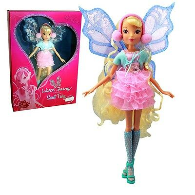 Winx Club - Luxury Sweet Fairy - Stella Bambola 28cm - limitata Collection