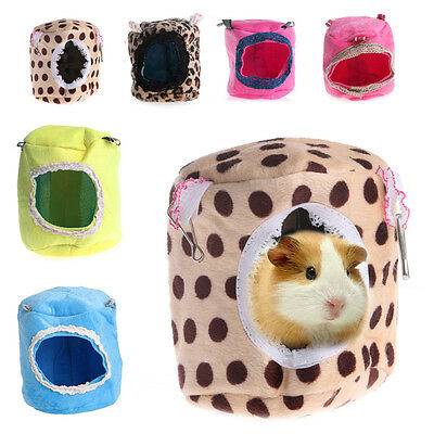 Ferret Hamster Rabbit Rat Parrot Squirrel Hammock Hanging Bed House Cage Toy