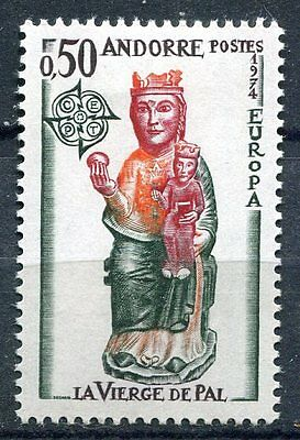 Timbre Andorre France Neuf  N° 237  **  Vierge De Pal