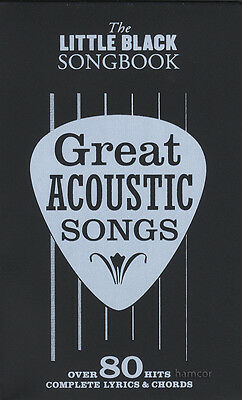 Great Acoustic Songs The Little Black Songbook Guitar Chords & Lyrics