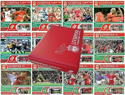 MICHAEL OWEN Liverpool FC Football Club Victory Card Stamp Album Collection