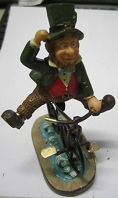 FINNIANS LEPRECHAUN PENNY FARTHING ON YOUR BIKE blarney stone