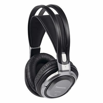 Panasonic RPWF950EB-S Cordless Headphones with Surround Sound in Black/Silver