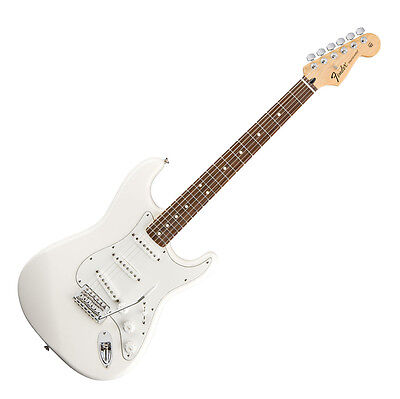 Fender Strat Stratocaster Standard Rw Aw E-Gitarre Weiss Vintage Style Tremolo