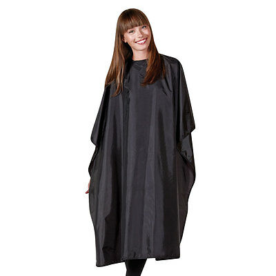 Betty Dain Nylon All Purpose Chemical Resistant Hairdressing Cape 45 x 60 Black