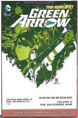Green Arrow Vol 5 Tpb The Outsiders #25 26 27 28 29 30 31 New 52 Oliver Queen 1