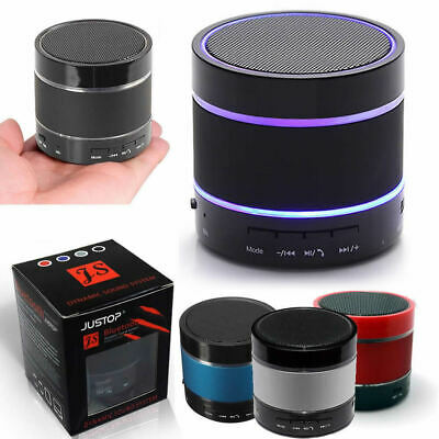 LED Bluetooth Wireless Speaker Portable&Rechargeable For Samsung iPhone iPad HTC