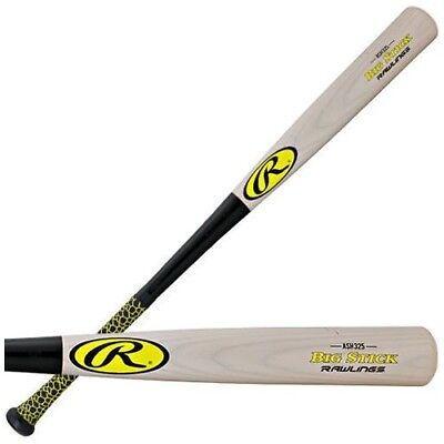 "Rawlings Big Stick R325BG-32/29 Ash 32"" Wood Baseball Bat"