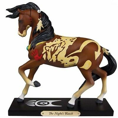 Trail of Painted Ponies The Nights Watch Native American Horse Figurine 4049718