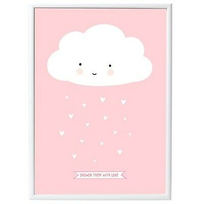 A little lovely Company Poster Wolke Rosa