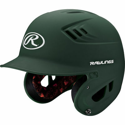 Rawlings R16 R16MJ-MDG Junior (6 3/8 - 7 1/8) Matte Dk Grn Batting Helmet