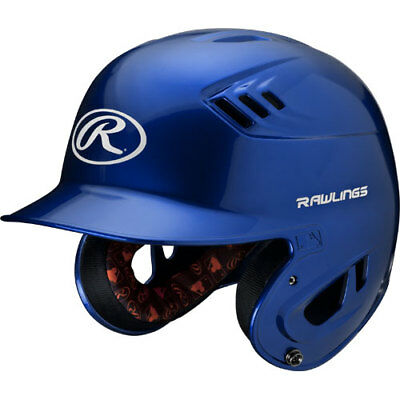 Rawlings R16 R16J-R Junior (6 3/8 - 7 1/8) Metallic Royal Batting Helmet