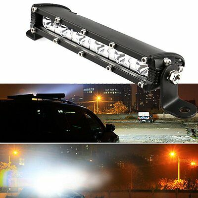 Thin 7inch 18W CREE LED Work Light Bar Offroad Spot Fog ATV SUV Driving Lamp New