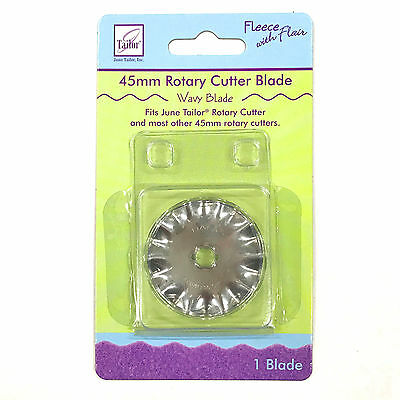 June Tailor 45MM Wavy Rotary Cutter Blade JT-191