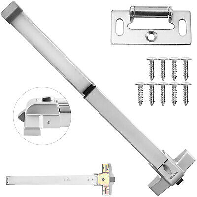 Door Push Bar Safety Exit Lock Emergency Safety Silver Emergency Exit On Sale