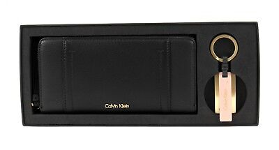 Calvin Klein Purse Myr4 Gift Set Black