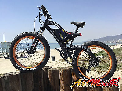 Addmotor MOTAN M-850 Electric Mountain Bicycle For Adult 48V Beach Snow E-Bike