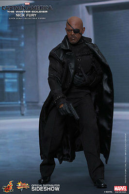 Sideshow Hot Toys Captain America 2 Movie Masterpiece Actionfigur 1/6 Nick Fury